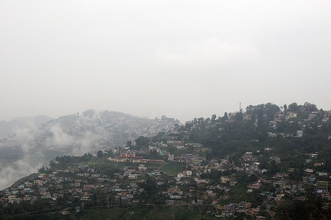 Almora, the town of the educated and learned. That's how it was known in the years gone by. It found itself in news last year for less than happy reasons. The rains devastated the region with cloudbursts and landslides. People were stranded, houses swept away. The entire area is still trembling with the rage of Indra, the rain god.
